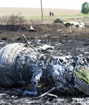 Malaysia Airlines plane crashes in eastern Ukraine