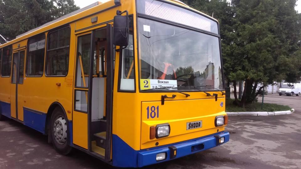 """Результат пошуку зображень за запитом """"На дорогах Франківська тролейбусів"""""""