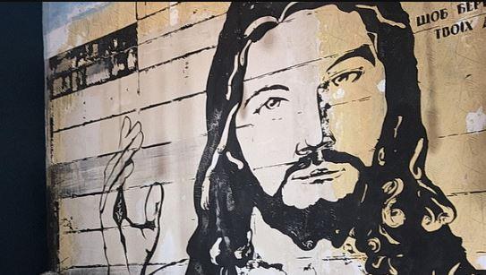 "Результат пошуку зображень за запитом ""Франківськ мурал Ісус"""